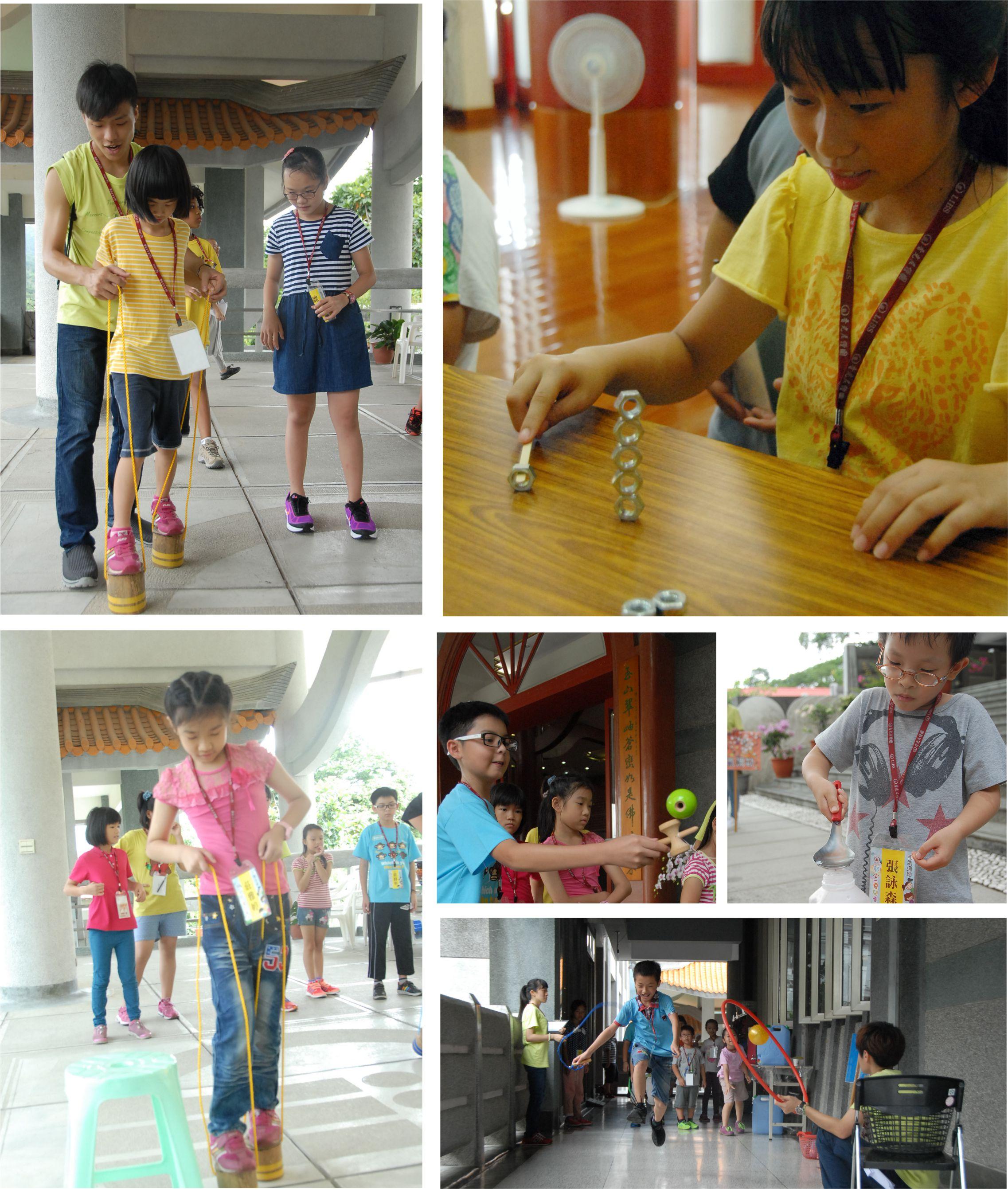 香光寺2016「開心一夏」兒童營--和佛陀玩遊戲