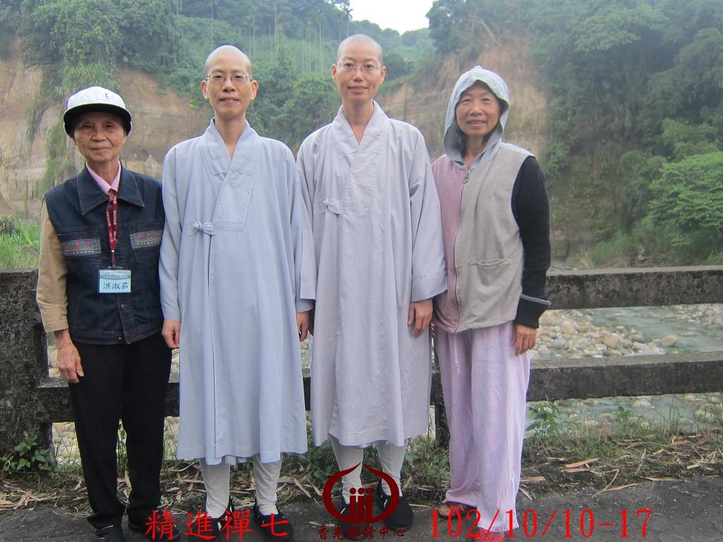 香光尼僧團102年精進禪七