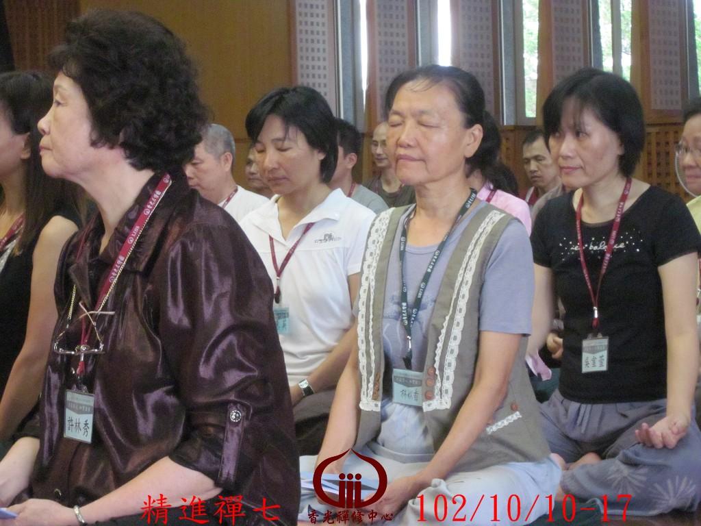 香光尼僧團102年精進禪七 (114)
